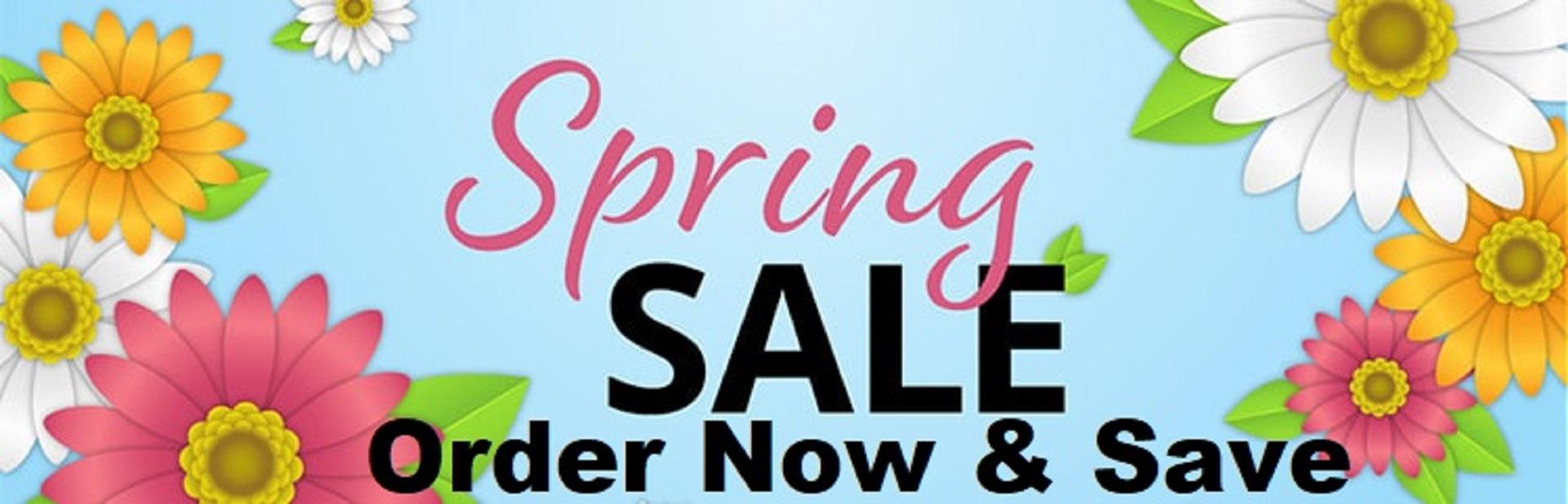 Spring Swing Sale